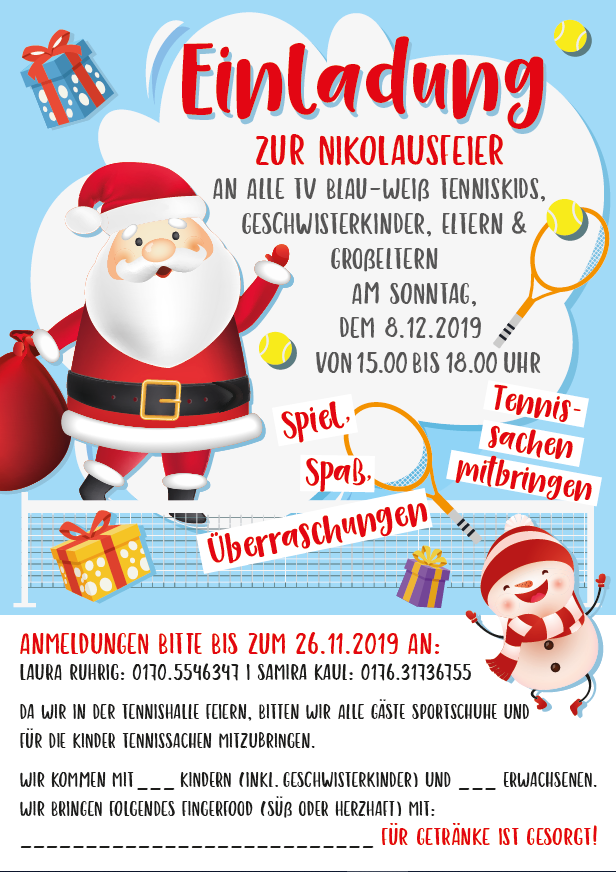 Nikolausfeier 08.12.2019