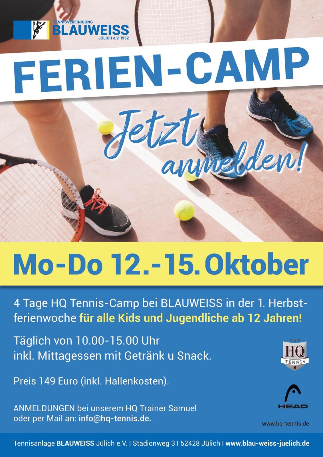 1. Herbstferien Camp!